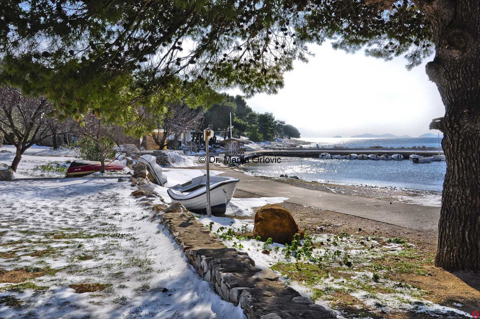 winter in dalmatia Croatia 11